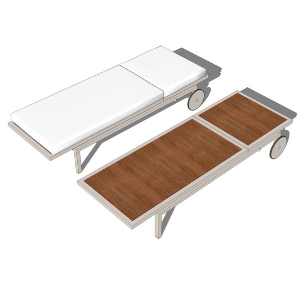 Montego chaise 3d model formfonts 3d models textures for Chaise 3d dessin