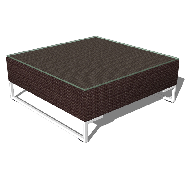 Montecito side table 3D Model - FormFonts 3D Models & Textures