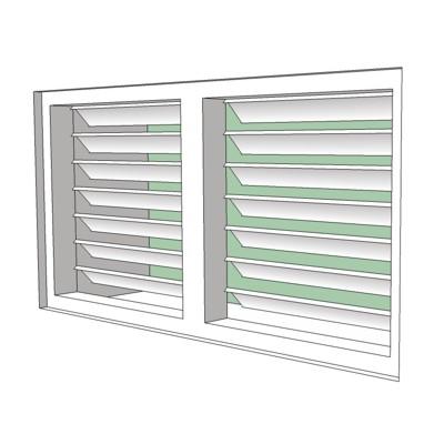 how to clean jalousie windows