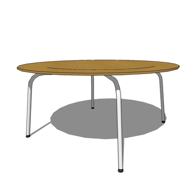 Plywood Group coffee table (metal) by Vitra, desig....