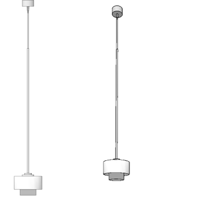 Maior suspended lamp by Prandina, designed by Meng....