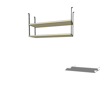 Ikea Magiker Bridge Unit 3d Model Formfonts 3d Models Textures