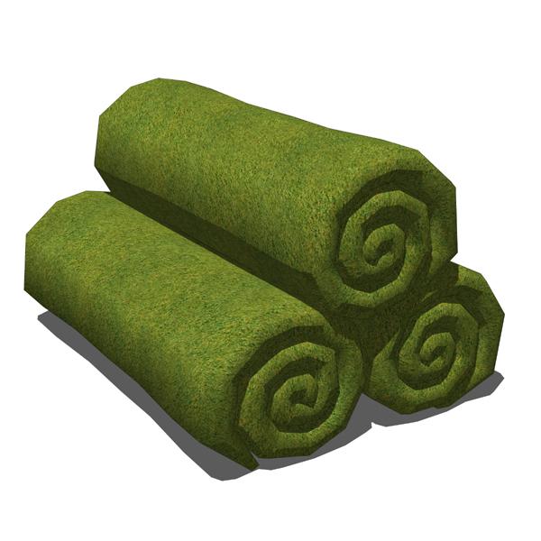 Rolled Up Towels 3d Model Formfonts 3d Models Amp Textures