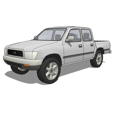 Toyota Hilux 3D Model - FormFonts 3D Models & Textures