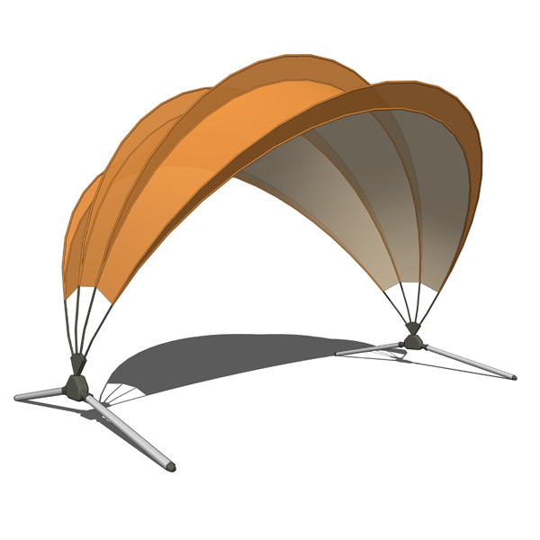 Captivating Sun Shade 3D Model