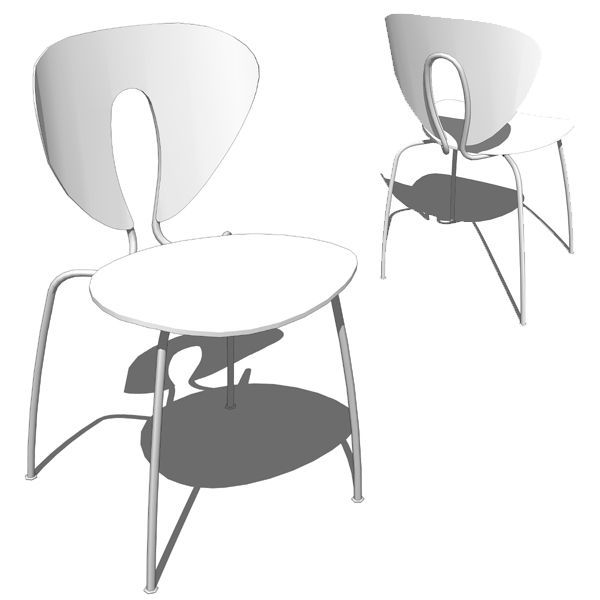 Globus Chair 3D Model