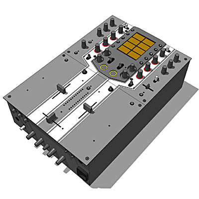 ... visualization info 3d rush sc films 3d model hob two dj obj 3ds by