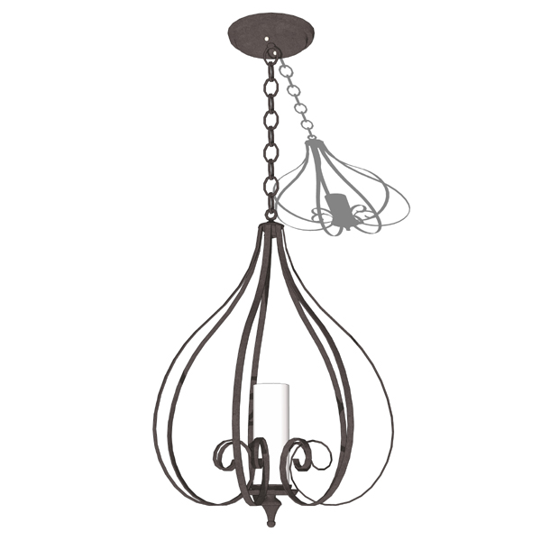 Ultralights Suenos pendant lighting..