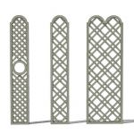 "Trellises; 12"" (30cm) and 24"" (60cm) wid..."