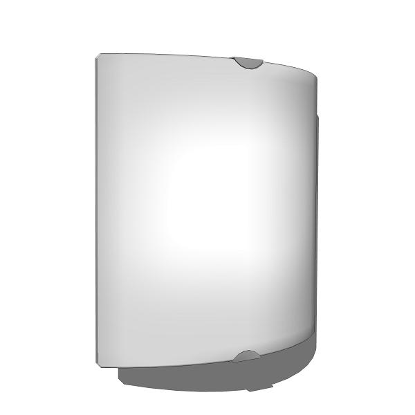 Wall or ceiling fixture providing diffused ambient....