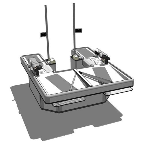Checkout C03 Short 3d Model Formfonts 3d Models Textures