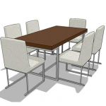 Generic dining table set
