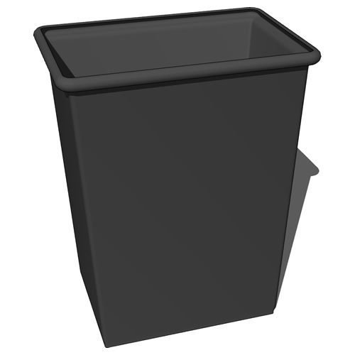 Small waste basket with and without top and with l....