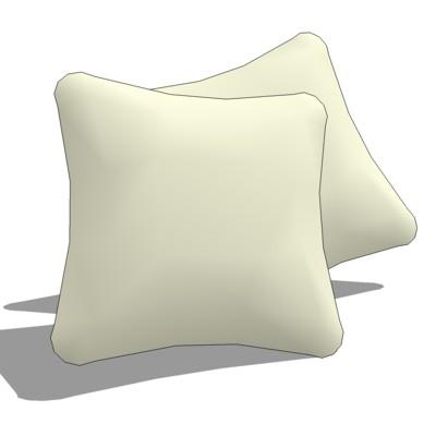 throw cushions 3d model formfonts 3d models textures