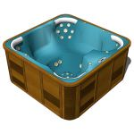 Jacuzzi bath. Model heavily based on Zambezi by o2...