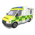 Mercerdes Benz Sprinter. Ambulance and van