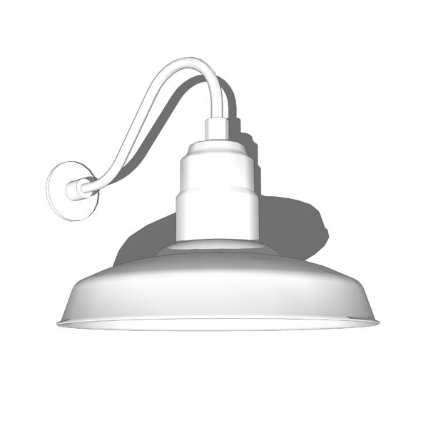 Warehouse Shade Lamps 3D Model