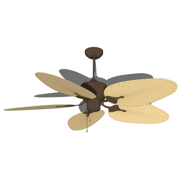 Palm ceiling fan..