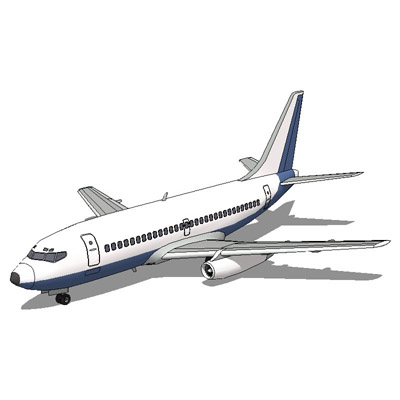 Boeing 737 3D Model - FormFonts 3D Models & Textures