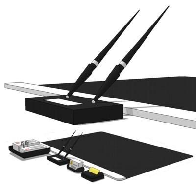 Desk Set 3d Model Formfonts 3d Models Amp Textures