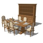 Camden Dining Set. Shown in a golden oak finish. O...
