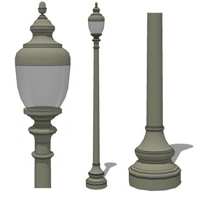 Washington model by Spring City.  sc 1 st  FormFonts & Street Lamp 3D Model - FormFonts 3D Models u0026 Textures