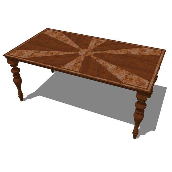 Inlay Dining Table 3D Model FormFonts 3D Models amp Textures : inlay dining tableFFModelID49511InlayTable from www.formfonts.com size 600 x 600 jpeg 24kB