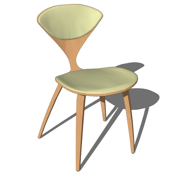 the iconic cherner armchair molded plywood
