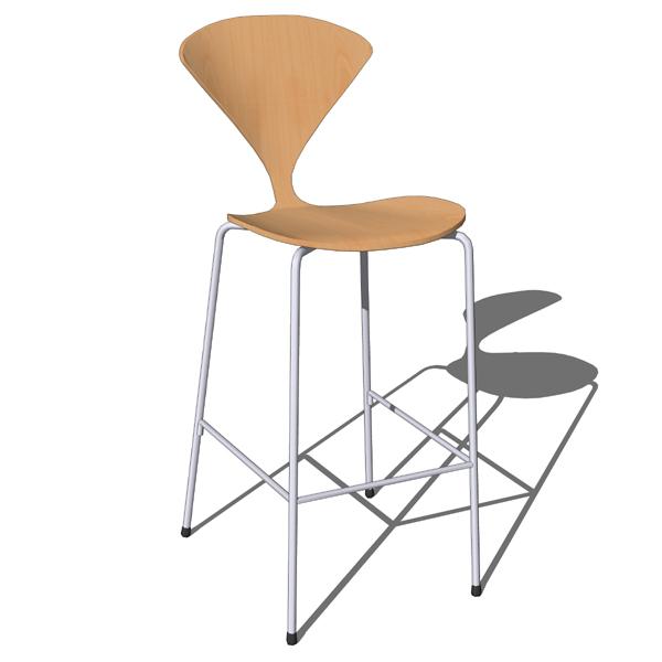 Cherner bar stool 3D Model FormFonts 3D Models amp Textures : cherner bar stool metal baseFFModelID50141chernerbarstoolFMH1150 from www.formfonts.com size 600 x 600 jpeg 90kB