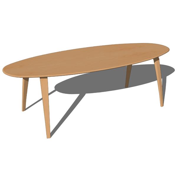 Cherner Dining Tables D Model FormFonts D Models Textures - Cherner dining table