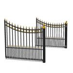 Same as 12 ft Driveway gate 01, but with 14ft / 4....