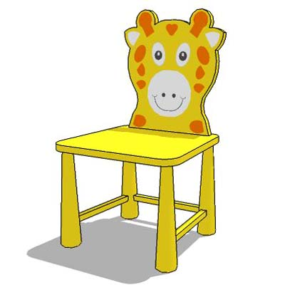 Kiddie Chair 3d Model Formfonts 3d Models Amp Textures