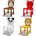 Kid's chair-cartoon charater series