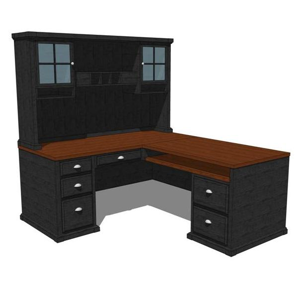 Black forest home office 3d model formfonts 3d models for Home office configurations