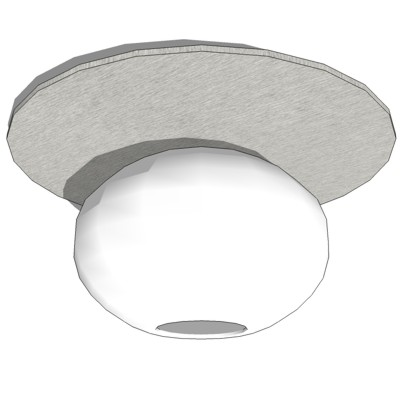 "Zero ""C"" Line Ceiling Light Fixtures."