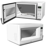 Microwave oven. To open look for an endpoint (hidd...