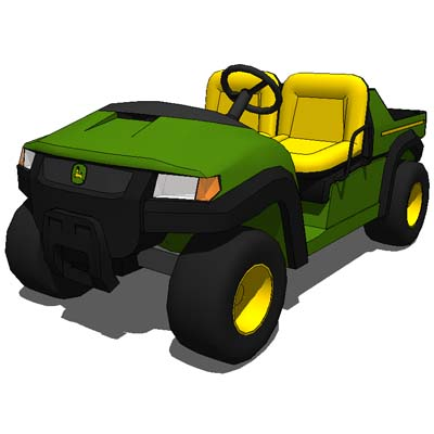 John Deere Gator CX Utility vehicle.Homeowner-frie....