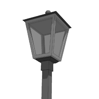 Generic Classic Street Light in multiple configura....