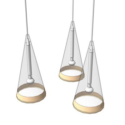 Fucsia Pendant Lamp 3D Model FormFonts Models amp Textures