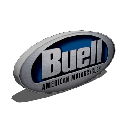 Buell logo 3D Model - FormFonts 3D Models & Textures