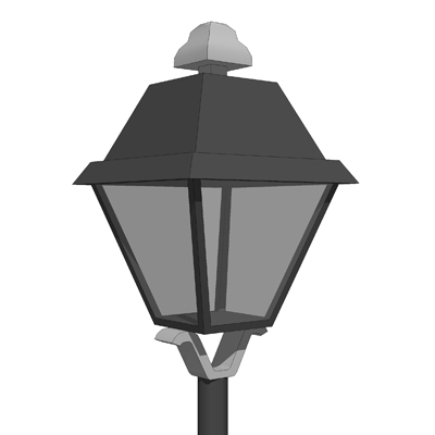 Generic Classical Lamp Style Pole Light..