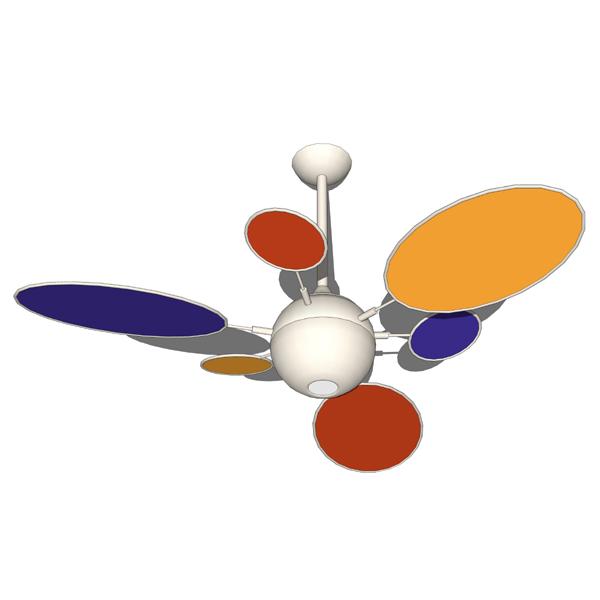 Cirque ceiling fans 3d model formfonts 3d models textures cirque ceiling fan aloadofball Images