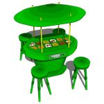 Food court with four seats included. Ideal for out...