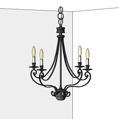 Feiss Chandeliers (Ceiling/Wall Mounted)