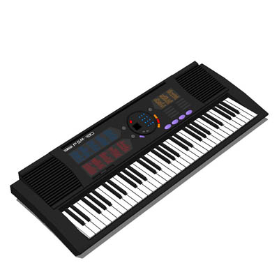 Yamaha keyboard 3D Model - FormFonts 3D Models & Textures