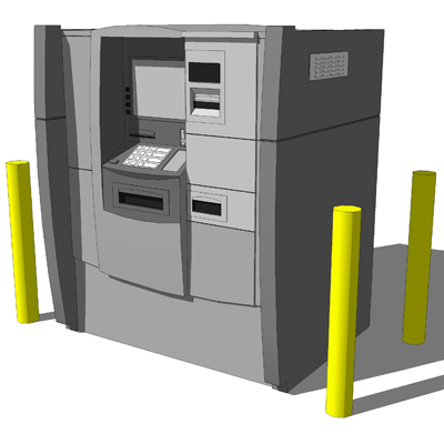 Drive-Up ATM based on the Diebold Opteva 750..