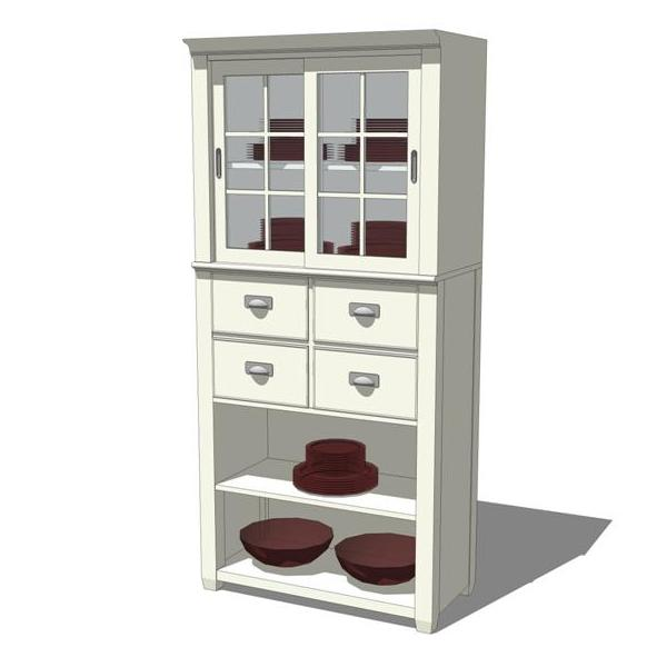 Modular Cottage Storage Cabinets..