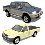 Mitsubishi L200 pickup truck, as known as Mitsubis...