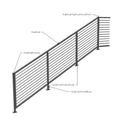Marvelous Modular Staircase On Description Cable Railing And Open Riser Stair Modular  Stair
