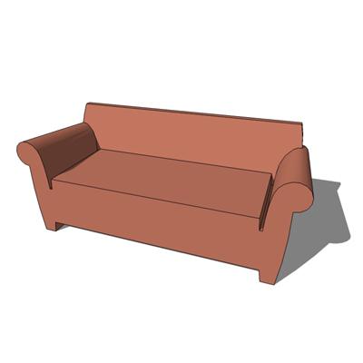 bubble club sofa 3d model formfonts 3d models textures. Black Bedroom Furniture Sets. Home Design Ideas